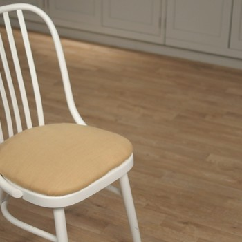 How to Upholster a Vanity Chair