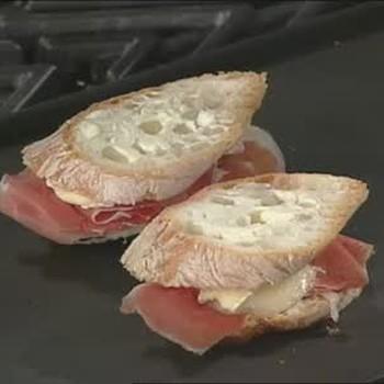 Panini Sandwich with Prosciutto