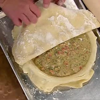 Recipe for Oyster and Bacon Pie