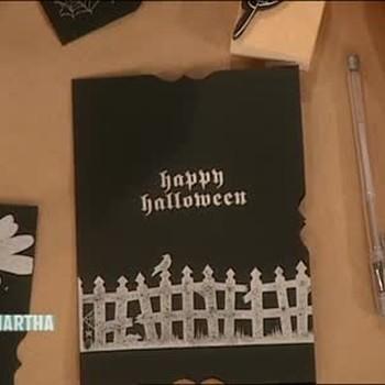 Scary Halloween Invitation Kits