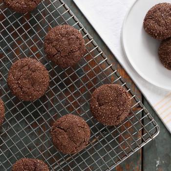 Cinnamon-Spiced Chocolate Cookies