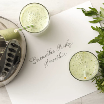 Parsley-Cucumber Smoothie