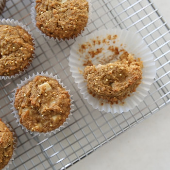 Double-Apple Bran Muffins Video HA
