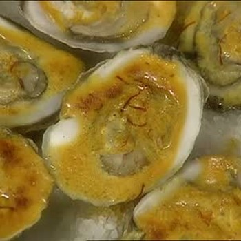 Broiled Oysters with Curry Sauce