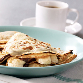 Nutella-Banana Crepe Recipe
