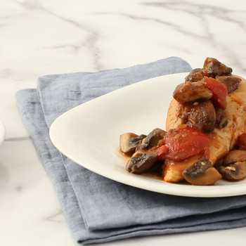 Chicken with Tomatoes and Mushrooms Video