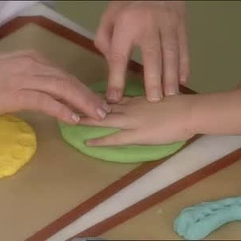 Handmade Play Dough for Children