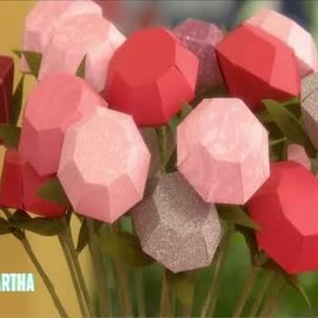 How to Make Diamond-Shaped Roses