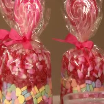 Valentine's Day Bagged Candy Gift