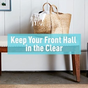 Keep Your Front Hall in the Clear