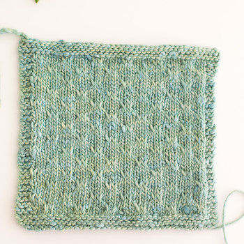 Add Subtle Texture to Your Knitting with the Trellis Double-Slip Stitch