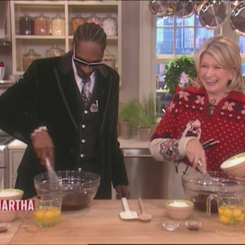 Baking Brownies with Snoop Dogg