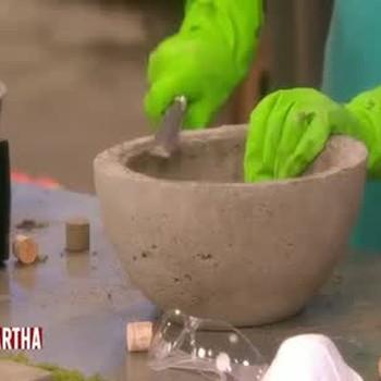 Handmade Concrete Garden Planters