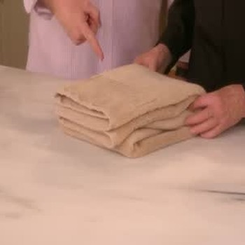 How to Fold a Towel the Right Way