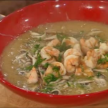 Japanese Shrimp and Mushroom Soup