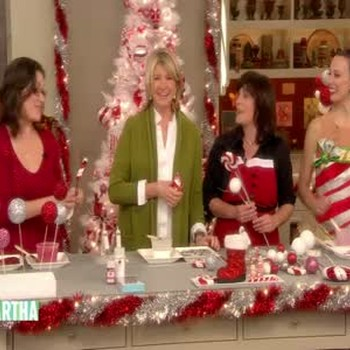 Peppermint Christmas Tree Toppers