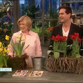Rupert Everett and Spring Flowers