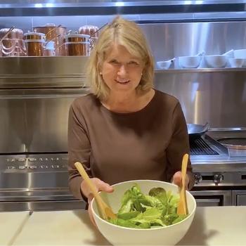 Martha's Perfect Salad