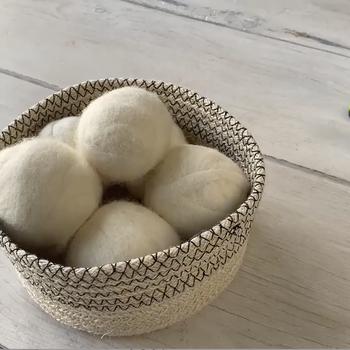 DIY Wool Dryer Ball