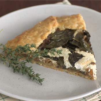 Swiss Chard and Ricotta Galette Video