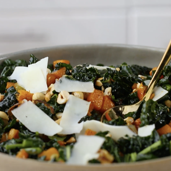 Watch: Lacinato Kale Salad with Roasted Squash