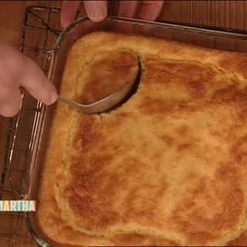Southern Cheddar Corn Spoon Bread