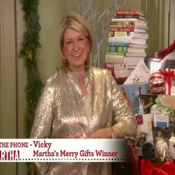 The Winner of Martha's Merry Gifts