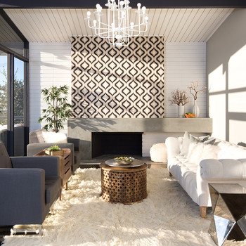 From Dated to Upgraded: A Midcentury House Gets a Home Renovation