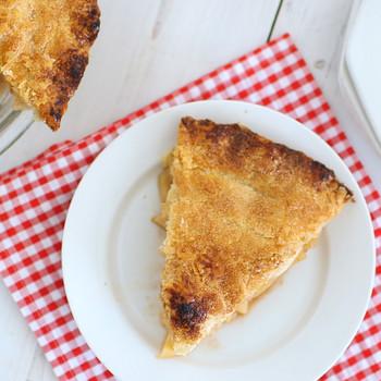 经典传统的苹果派