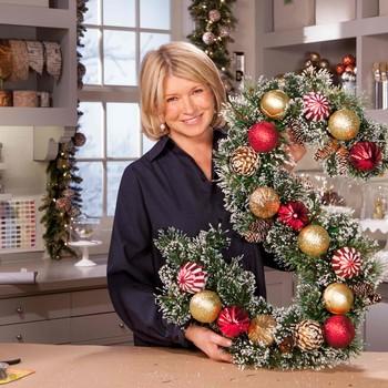 Ask Martha: Festive Monogram Wreath