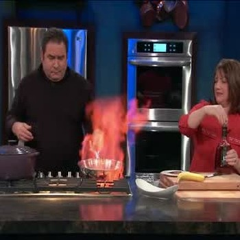 Bananas Foster with Chef Gale Gand
