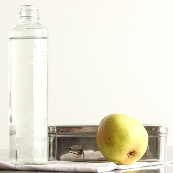 Etched Glass Water Bottle Tutorial