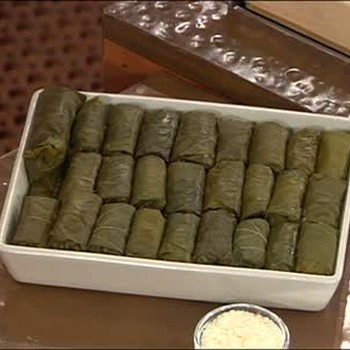 Koula's Stuffed Grape Leaves Part 2