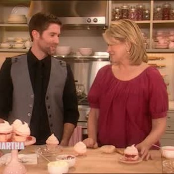 Meringue Raspberry Cupcakes, Part 2