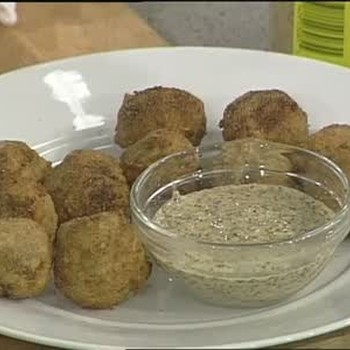Pork Boulettes with Creole Mustard