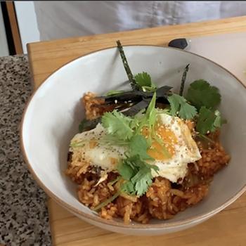 Kimchi Fried Rice Video