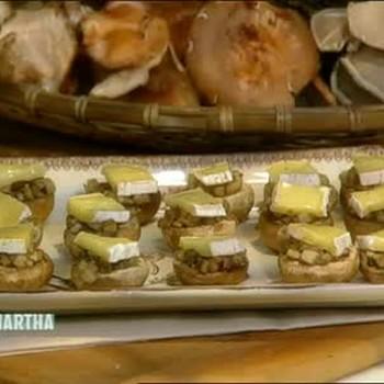 Stuffed Button Mushroom Appetizers