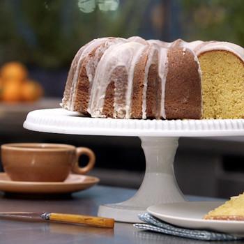 Tangerine Cake with a Citrus Glaze