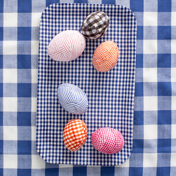 How-To Plaid Easter Egg Checkered Designs