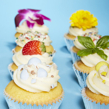Easy Decorating Ideas for Spring Cupcakes