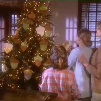 Christmas Tree Cookies as Ornaments