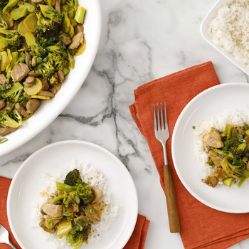 Broccoli and Pork Stir-Fry Video