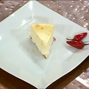 Jalapeno Spicy and Sweet Cheesecake