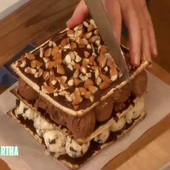 Matzo Chocolate Mint Ice Cream Cake