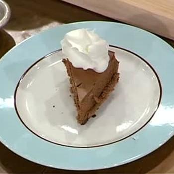 New York Style Chocolate Cheesecake