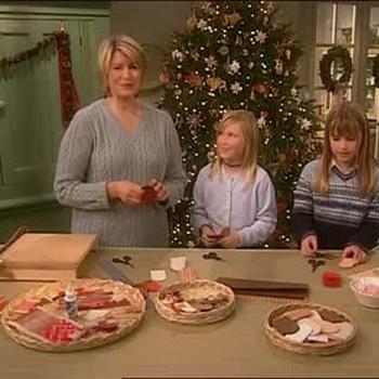 Scandinavian Heart Basket Ornaments