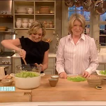 Stuffed Cabbage with Jane Krakowski