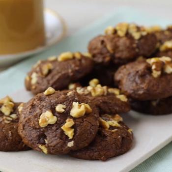 Walnut Brownie Cookies