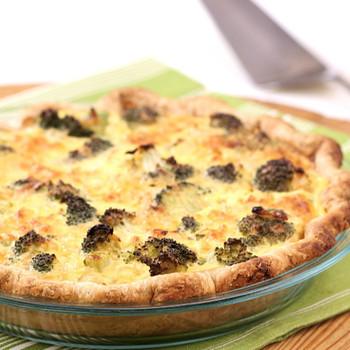 Brunch-Ready Broccoli Cheddar Quiche