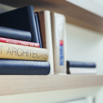 Bookshelves Galore! This Modern Home Is a Bookworm's Dream